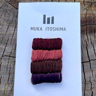【MUKA】 <br>刺繍<br>ピンバッジ