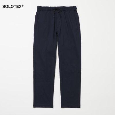 SOLOTEX使用 ハイテンションニットスクラブ パンツ ネイビー MEN