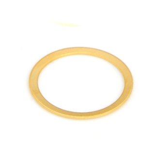 ゴールドプレーテドブラスリング1