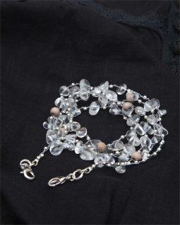 リュプレ(ライトグレー)ネックレス