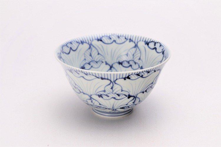 ☆そうた窯 染付花弁紋 ASA飯碗 画像メイン