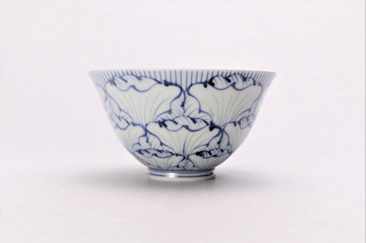 ☆そうた窯 染付花弁紋 ASA飯碗 画像サブ1