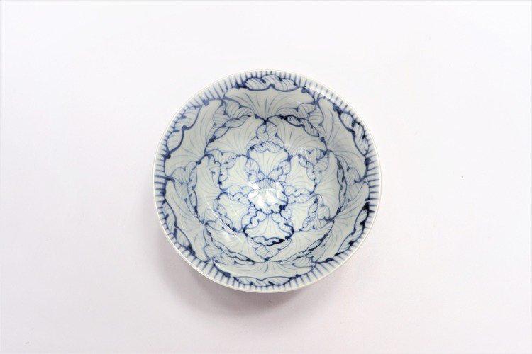 ☆そうた窯 染付花弁紋 ASA飯碗 画像サブ3