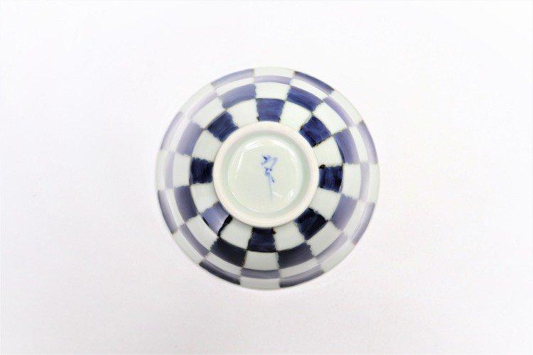 ☆そうた窯 染付市松 ASA飯碗 画像サブ5