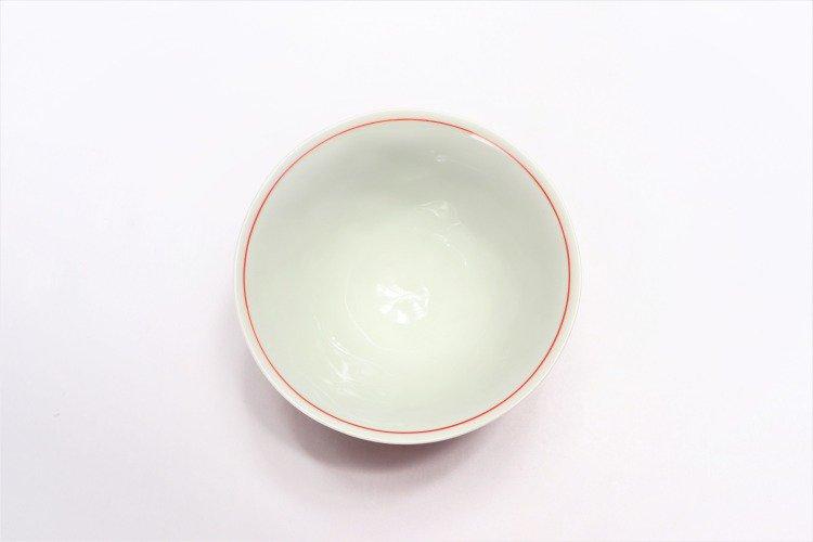 ☆そうた窯 染錦赤市松 ASA飯碗 画像サブ3