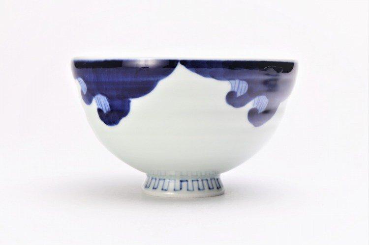 ☆そうた窯 染付龍雲(手) 茶付(大) 画像サブ1