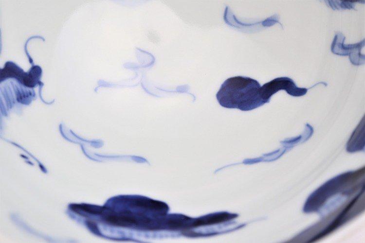 ☆そうた窯 染付龍雲(手) 茶付(大) 画像サブ6