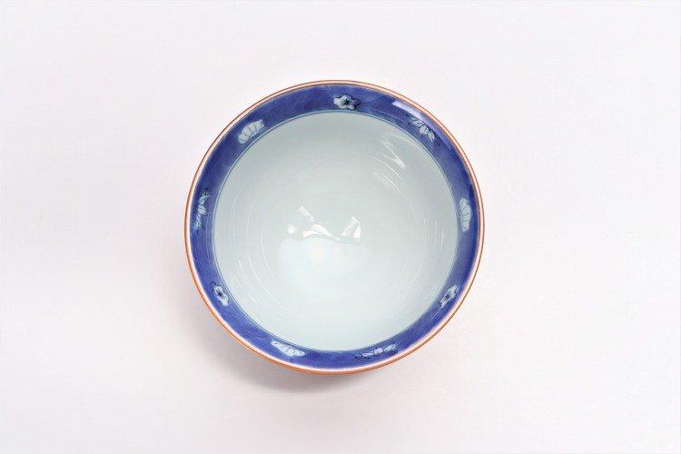 ☆徳七窯 染錦赤濃宝袋 茶付(小) 画像サブ7