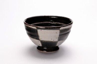 大桂工房 オリベ市松茶碗