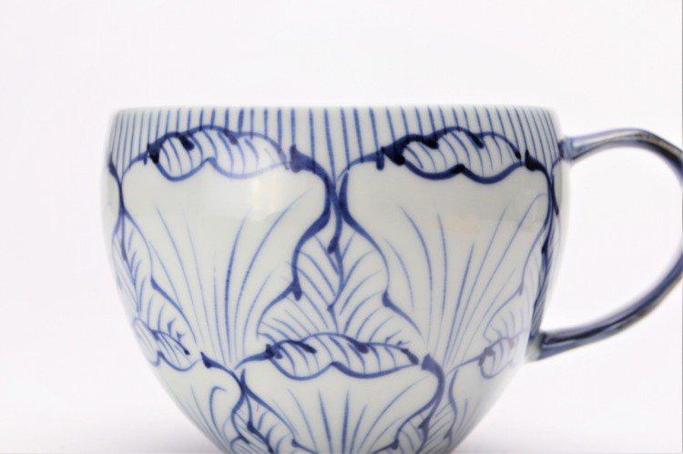 そうた窯 染付花弁紋 丸スープカップ(青) 画像サブ3
