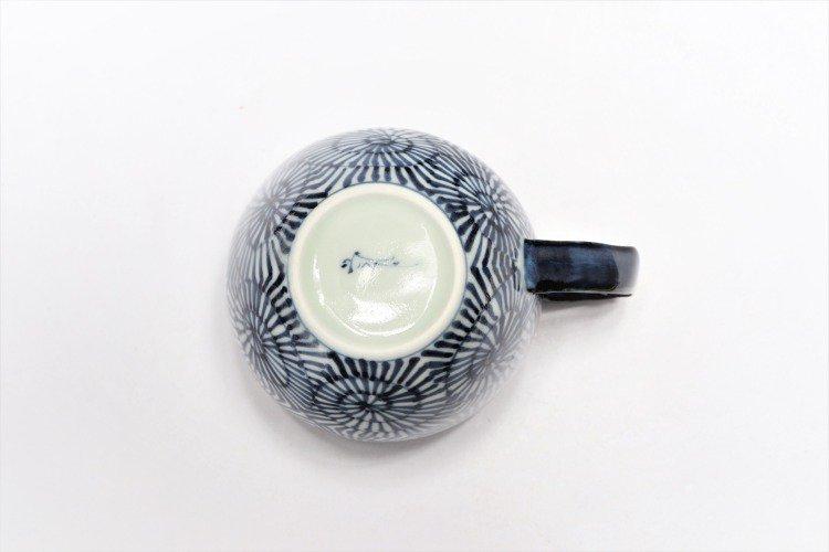 そうた窯 染付蛸唐草 丸スープカップ(青) 画像サブ4