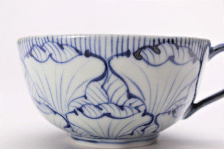 そうた窯 染付花弁紋 スープカップ(青) 画像サブ3