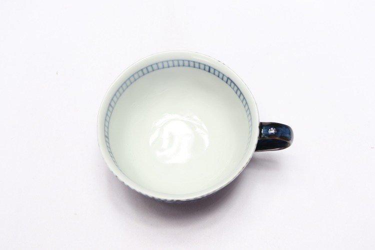 そうた窯 染付蛸唐草 スープカップ(青) 画像サブ4