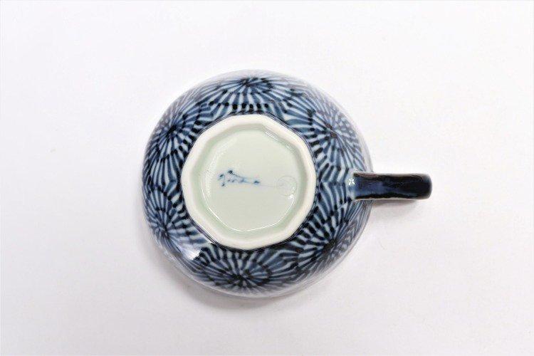 そうた窯 染付蛸唐草 スープカップ(青) 画像サブ6