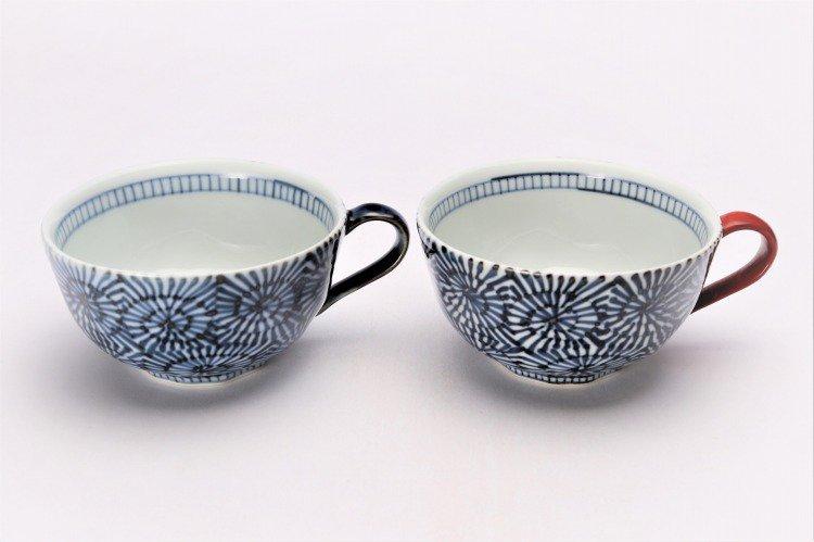 そうた窯 染付蛸唐草 スープカップ(青) 画像サブ8