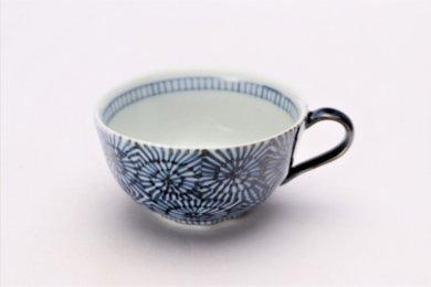☆そうた窯 染付蛸唐草 スープカップ(青)