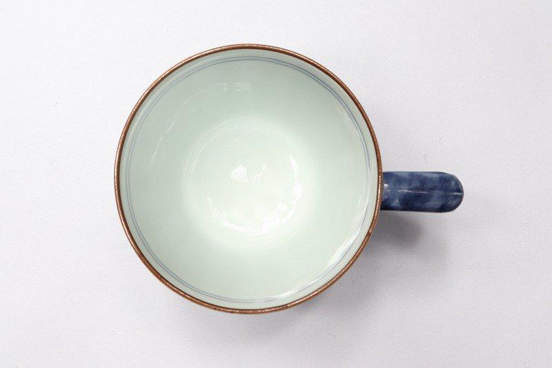 一夢窯 祥瑞 マグカップ(青) 画像サブ2