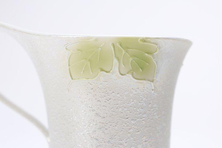 文山窯 青牡丹パールラスター 流転マグカップ 画像サブ5
