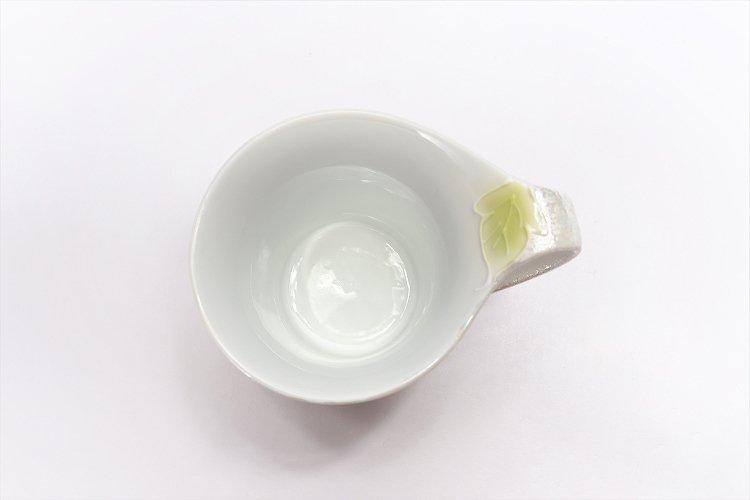 文山窯 青牡丹パールラスター 流転マグカップ 画像サブ7