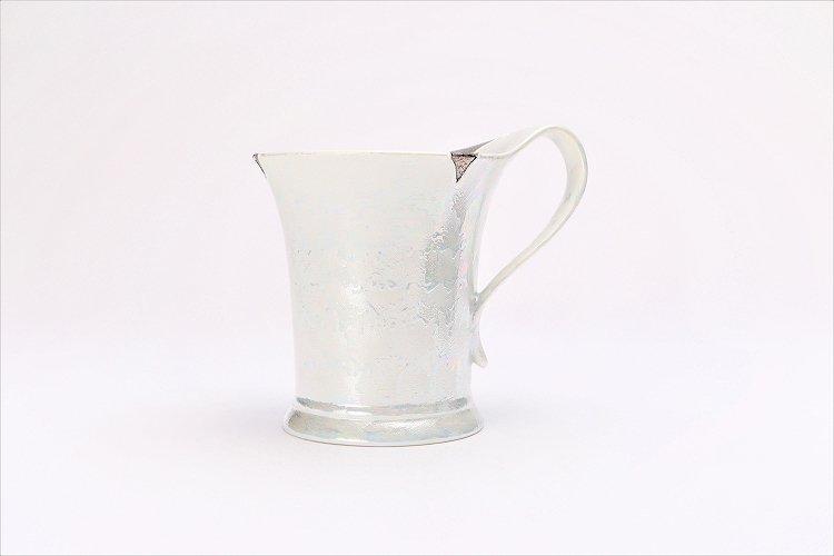 ☆楽々シリーズ ラスターシルバー 流転マグカップ (化粧箱入り) 画像サブ1