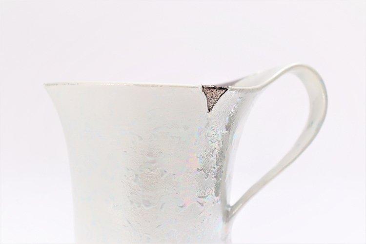 ☆楽々シリーズ ラスターシルバー 流転マグカップ (化粧箱入り) 画像サブ4