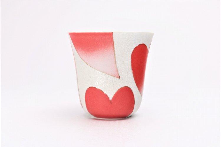 田清窯 バレンタイン赤 マグカップ 画像サブ2