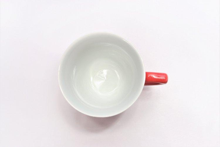 田清窯 バレンタイン赤 マグカップ 画像サブ6