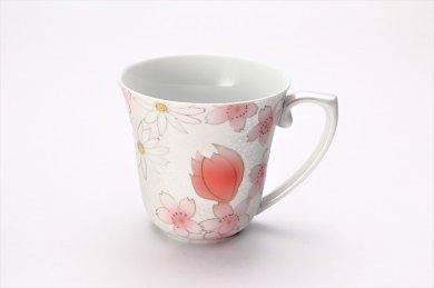 田清窯 チェリーブラッサム マグカップ