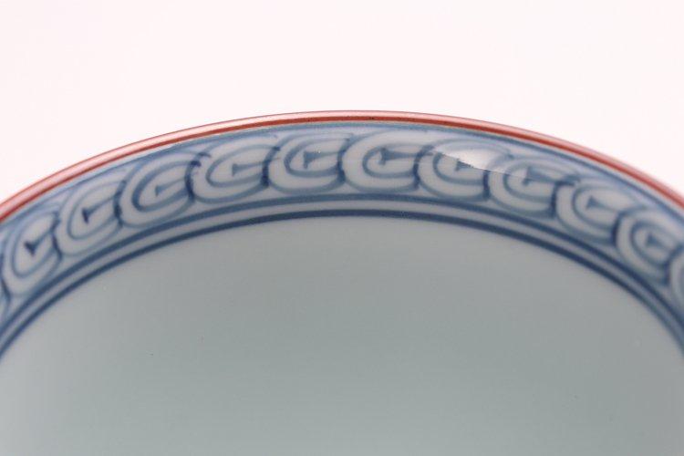 ☆洸琳窯 染錦鉄仙花 マグカップ(赤) 画像サブ4