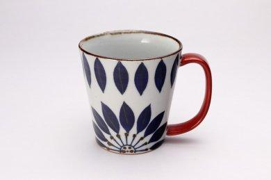 翔芳窯 ブルーフラワー Bigマグカップ 在庫3個