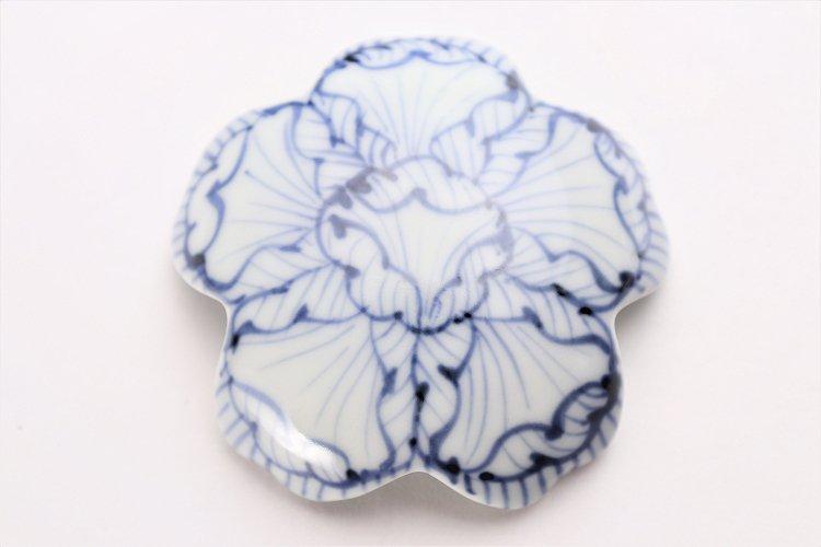 〇楽々シリーズ 染付花弁紋 桜型排水口カバー 画像サブ3