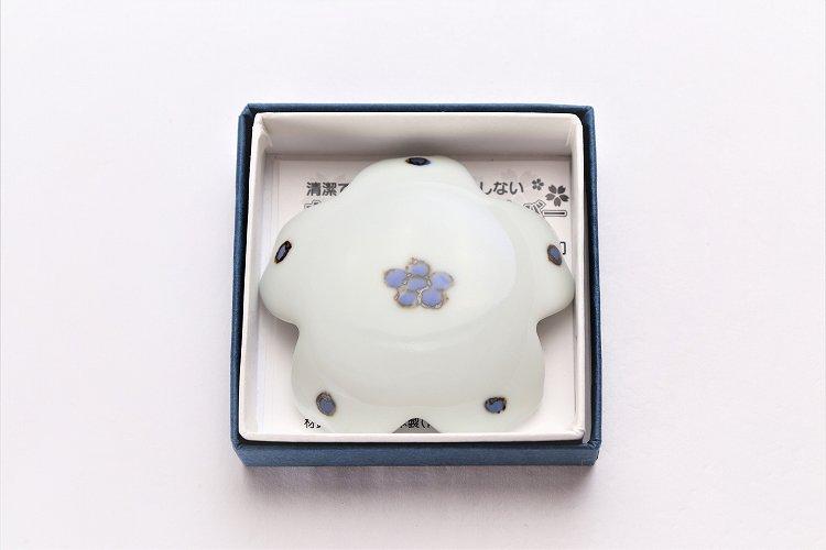 〇楽々シリーズ 染付小花紋 桜型排水口カバー 画像サブ5