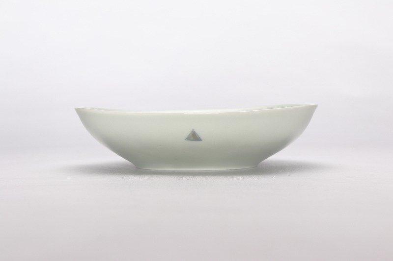 一峰窯 トライアングル 楕円浅ボウル(小) 画像サブ1