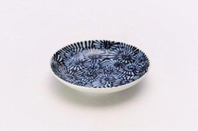☆そうた窯 染付蛸唐草 3.5寸多用皿