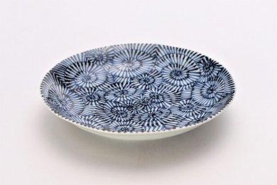 ☆そうた窯 染付蛸唐草 6.5寸深皿