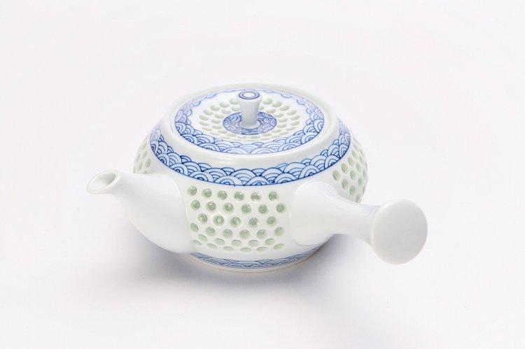 水晶青海波 茶器セット 画像サブ10