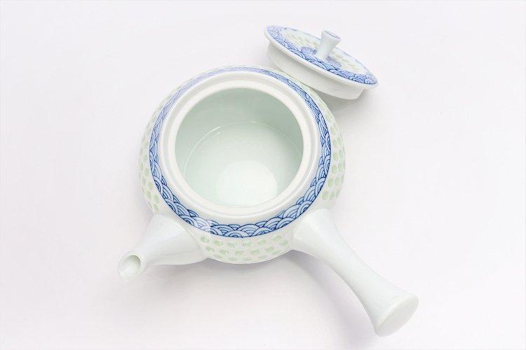 水晶青海波 茶器セット 画像サブ13