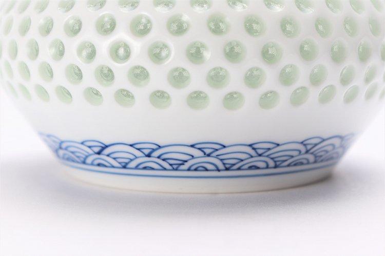 水晶青海波 茶器セット 画像サブ15