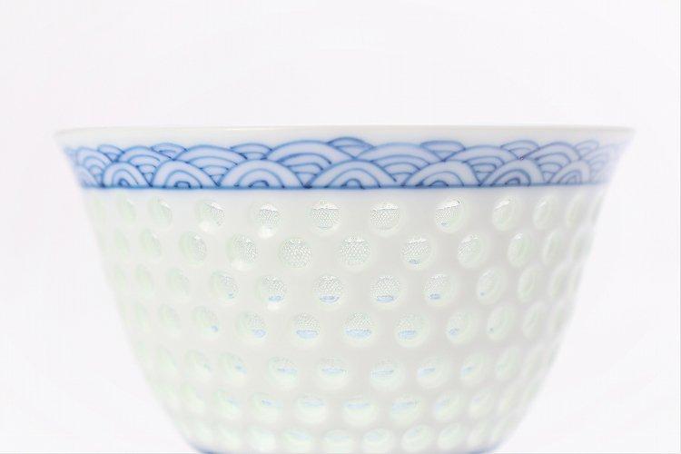 水晶青海波 茶器セット 画像サブ3