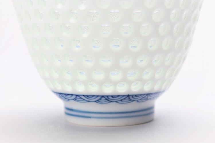 水晶青海波 茶器セット 画像サブ4