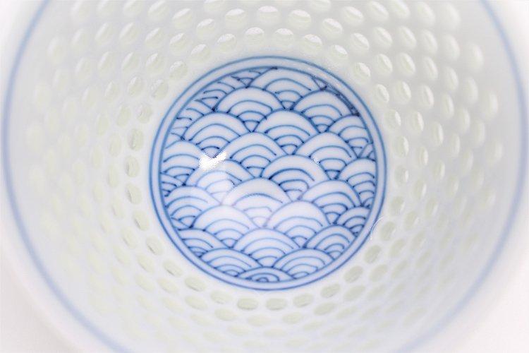 水晶青海波 茶器セット 画像サブ6