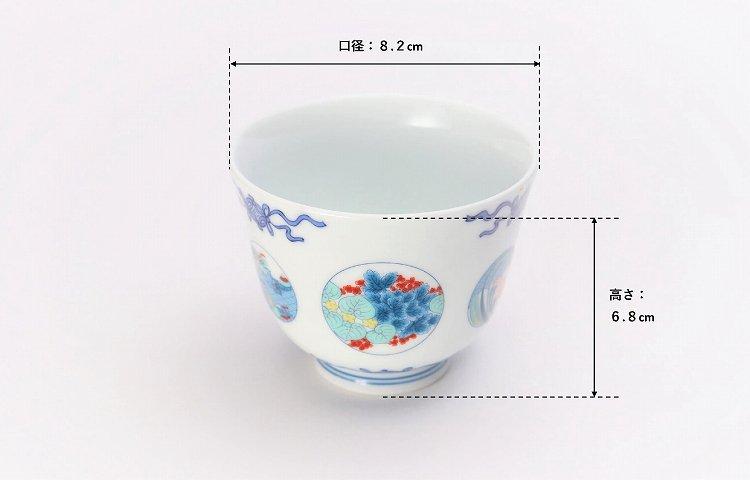 瀬兵窯 鍋島丸紋 茶器セット 画像サブ12