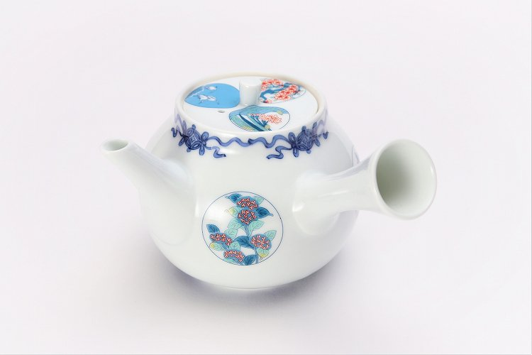 瀬兵窯 鍋島丸紋 茶器セット 画像サブ13