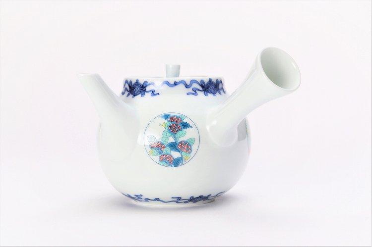 瀬兵窯 鍋島丸紋 茶器セット 画像サブ14