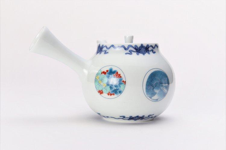 瀬兵窯 鍋島丸紋 茶器セット 画像サブ15