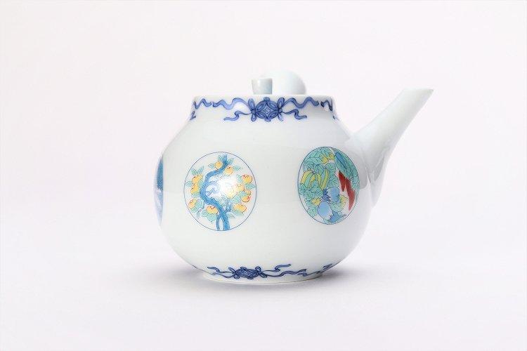 瀬兵窯 鍋島丸紋 茶器セット 画像サブ16