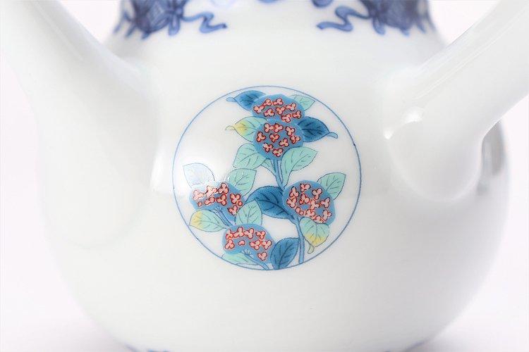 瀬兵窯 鍋島丸紋 茶器セット 画像サブ17