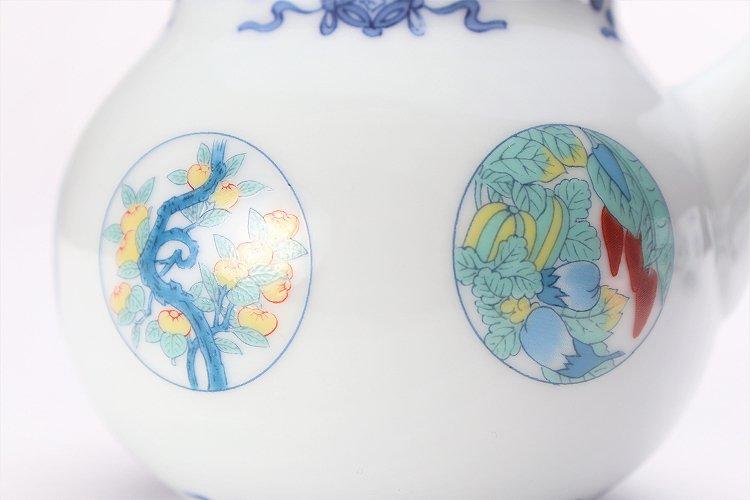 瀬兵窯 鍋島丸紋 茶器セット 画像サブ19
