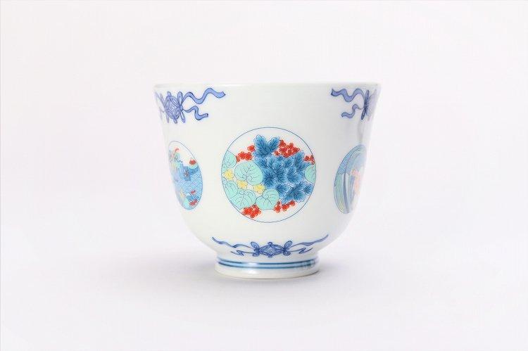 瀬兵窯 鍋島丸紋 茶器セット 画像サブ2