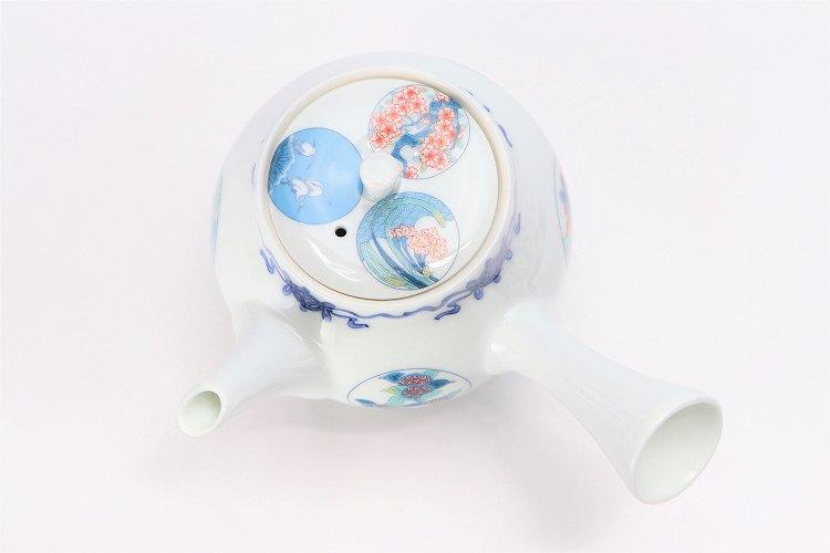 瀬兵窯 鍋島丸紋 茶器セット 画像サブ21